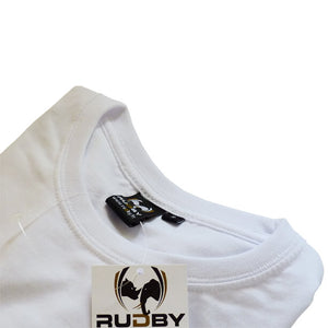 T-shirt rugby DEOF blanc