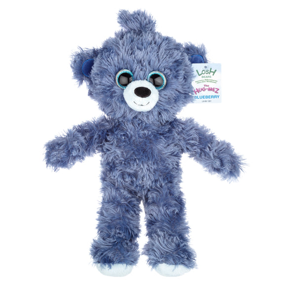 PLUSH BEAR - BLUEBERRY
