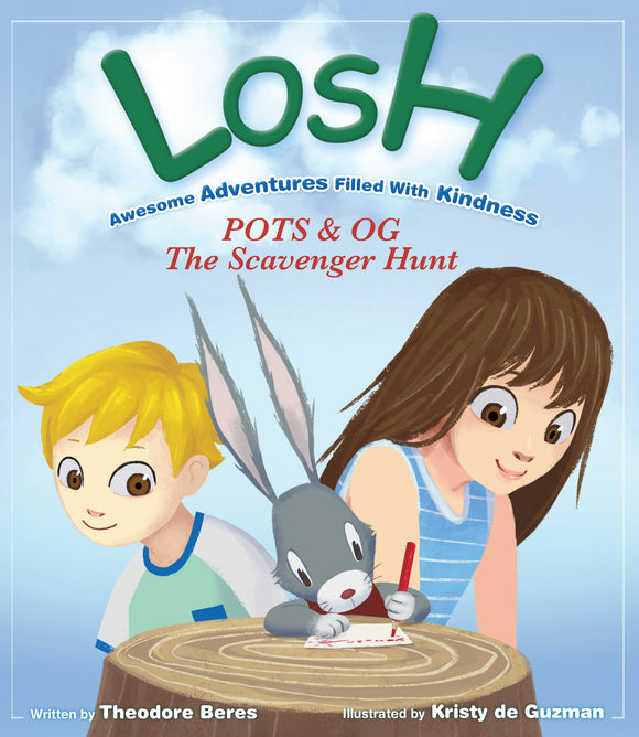 Story Book:  LOSH -  POTS & OG: The Scavenger Hunt