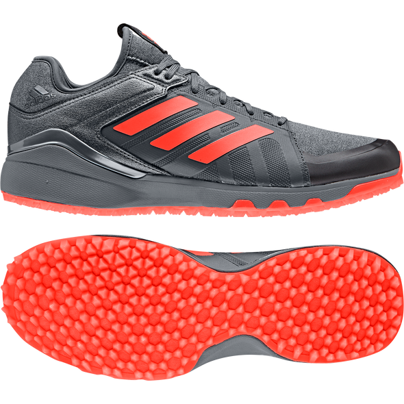 Adidas Lux Speed 2019 Black/Red/Night Hockey Shoes