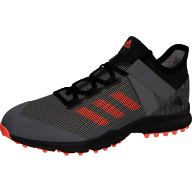 Adidas Zone Dox 1.9S Speed Black/Red/Grey Hockey Shoes