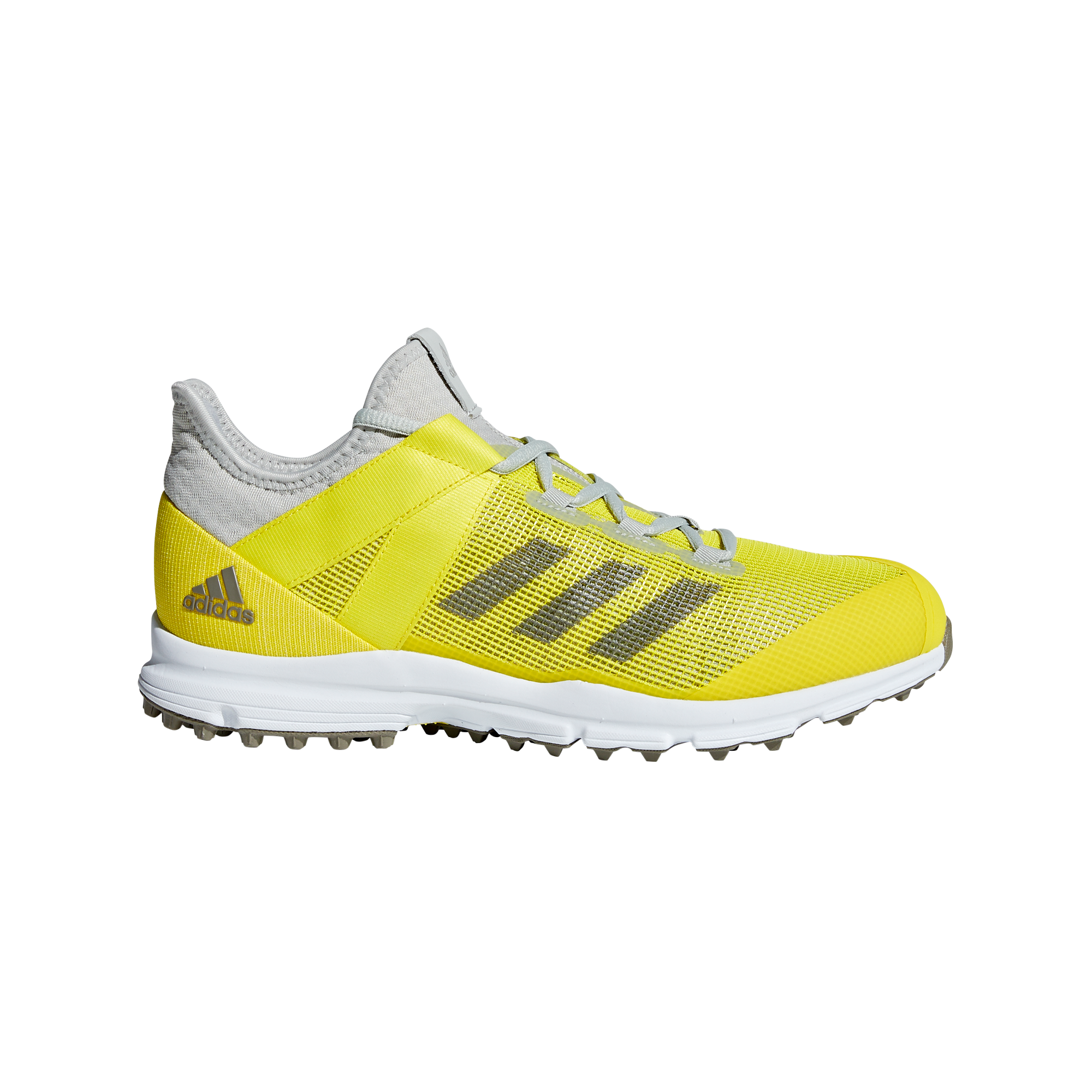 separation shoes 514e3 9c666 Adidas Zone Dox 1.9S Speed 2019 SilverWhiteYellow Hockey Shoes