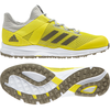 Adidas Zone Dox 1.9S Speed 2019 Silver/White/Yellow Hockey Shoes