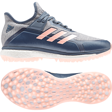 Adidas Fabela X 2019 Endless Energy Steel/Orange/Grey Hockey Shoes