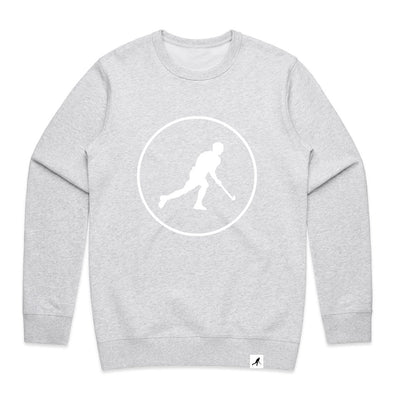 JDH Grey Circle Sweater