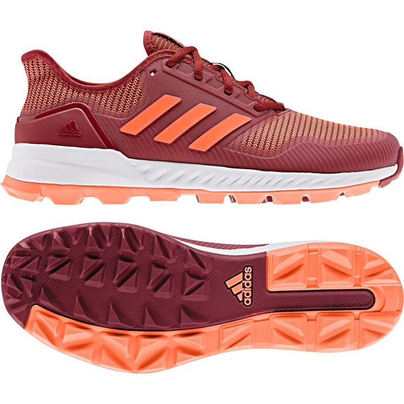 Adidas Adipower 2020 Maroon / Solar Orange Hockey Shoes