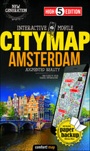 High 5 Edition CITYMAP Collection - Interaktive Stadtkarten Amsterdam
