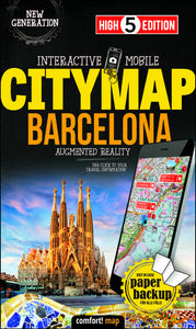 High 5 Edition CITYMAP Collection - Interaktive Stadtkarten Barcelona