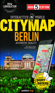 High 5 Edition CITYMAP Collection - Interaktive Stadtkarten Berlin