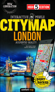 High 5 Edition CITYMAP Collection - Interaktive Stadtkarten London