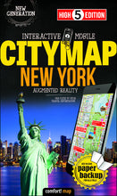 High 5 Edition CITYMAP Collection - Interaktive Stadtkarten New York