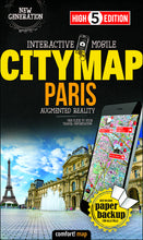 High 5 Edition CITYMAP Collection - Interaktive Stadtkarten Paris