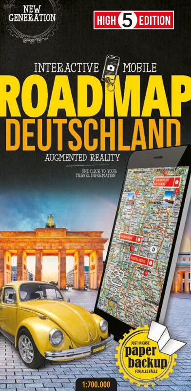 High 5 Edition ROADMAP Collection - Interaktive Landkarten Deutschland