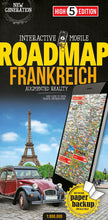 High 5 Edition ROADMAP Collection - Interaktive Landkarten Frankreich