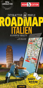 High 5 Edition ROADMAP Collection - Interaktive Landkarten Italien