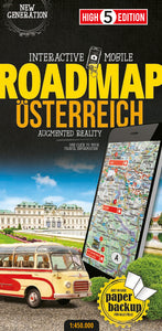 High 5 Edition ROADMAP Collection - Interaktive Landkarten Österreich