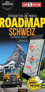 High 5 Edition ROADMAP Collection - Interaktive Landkarten Schweiz