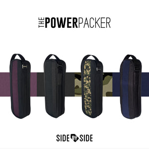 Side by Side Power Packer - Premium Kabel Organizer Ideal für sperriges Zubehör