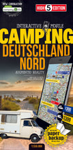 High 5 Edition CAMPING Collection - Interaktive Campingkarten Deutschland