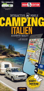 High 5 Edition CAMPING Collection - Interaktive Campingkarten Italian