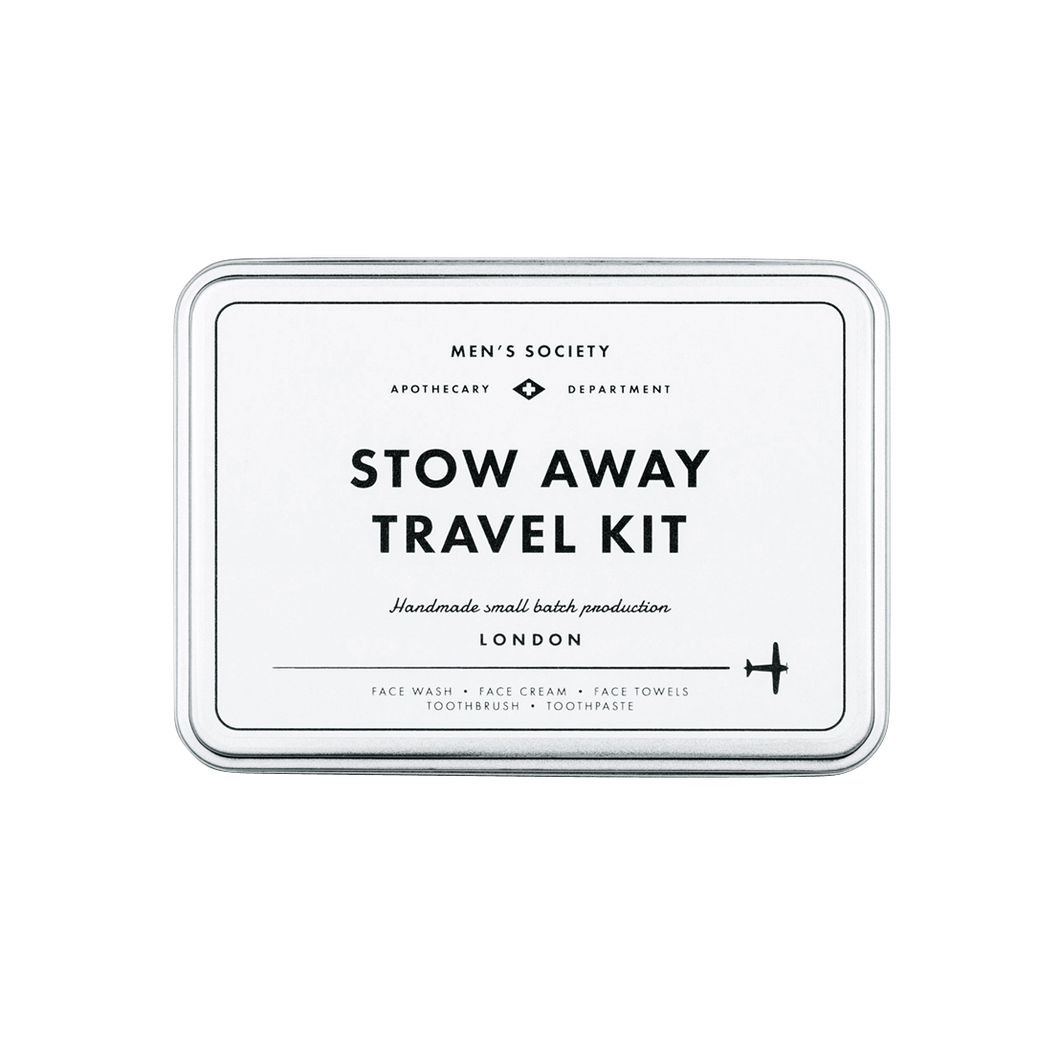 Men´s Society Stow Away Travel Kit - HERREN PFLEGESET FÜR FLUGREISEN