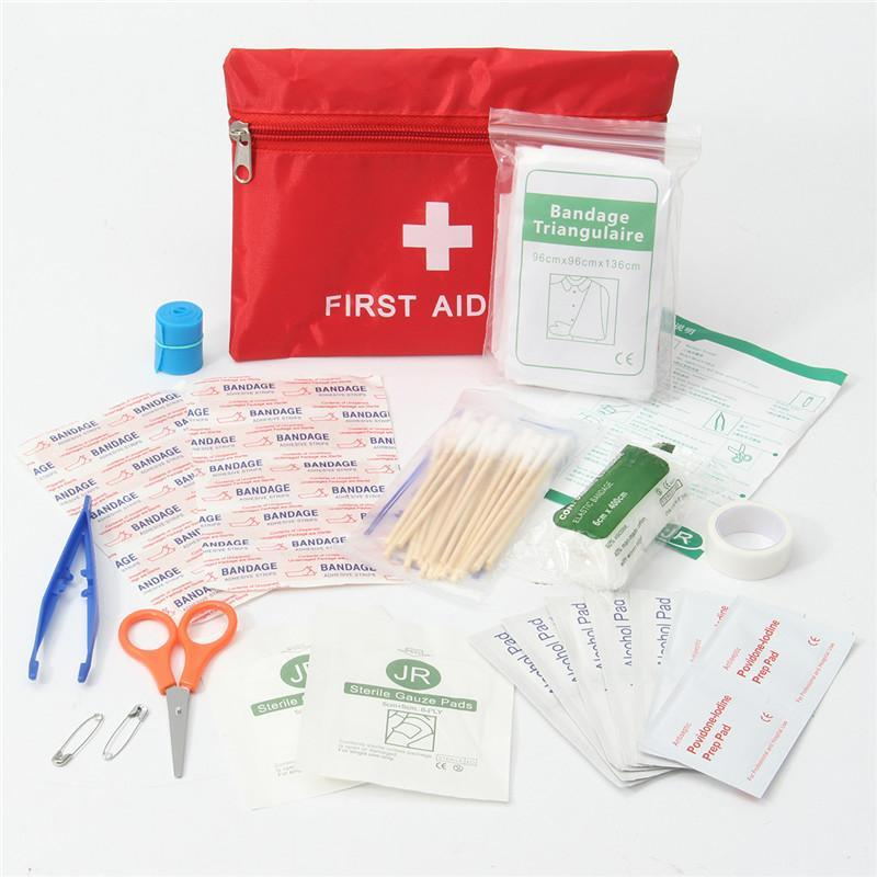 Travel First Aid Essential Kit - Backpacking Travel Gear