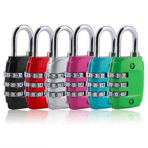 Luggage Combination Lock - Backpacking Travel Gear
