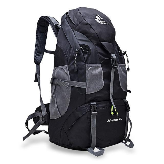 50L Outdoor Travel Backpack Waterproof - Backpacking Travel Gear