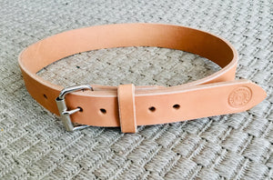 Hollis Heavy Duty Leather Work/Gun Belt