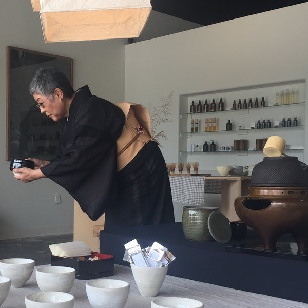 Japanese Tea Ceremony at Solare