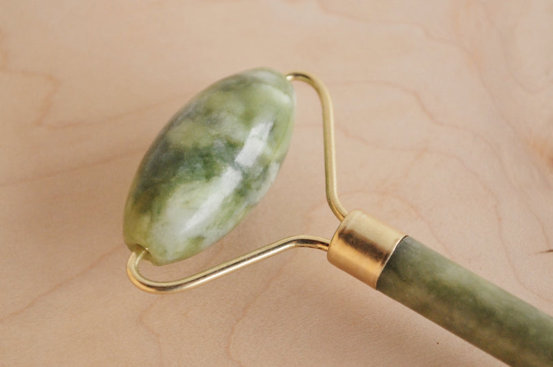 Jade Facial Roller at Solare