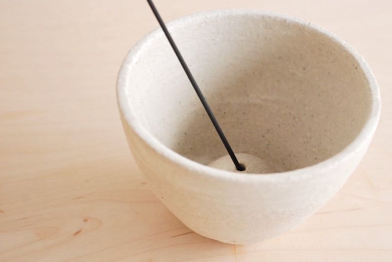 Nancy Kwon Stoneware Incense Dish