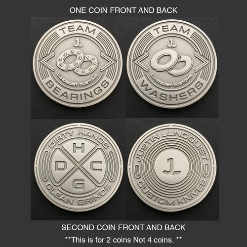 Package Deal! 2 Coins + 4 Stickers