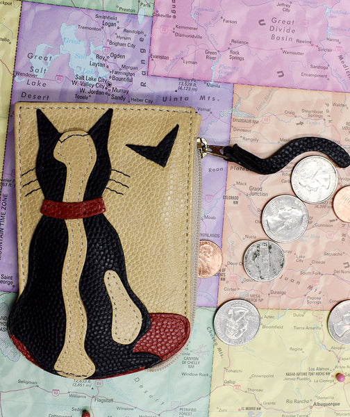 Cat in the Window Coin Purse