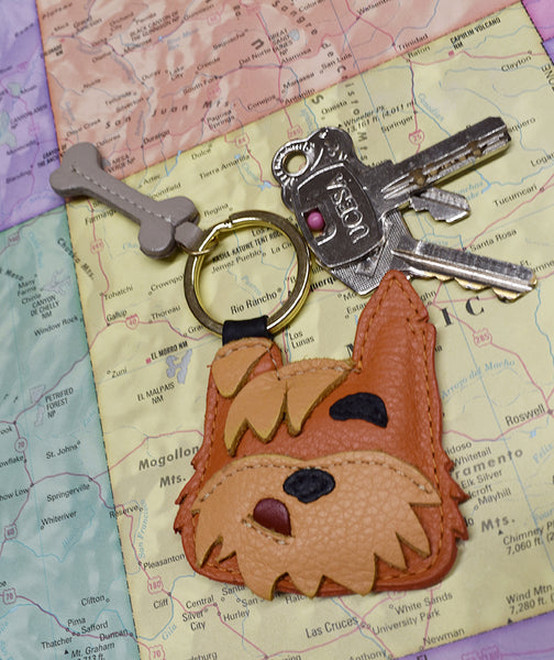 Scruffy Key Fob