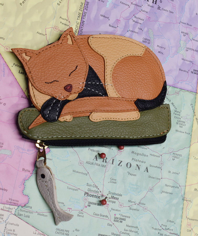 Dreaming Cat Coin Purse
