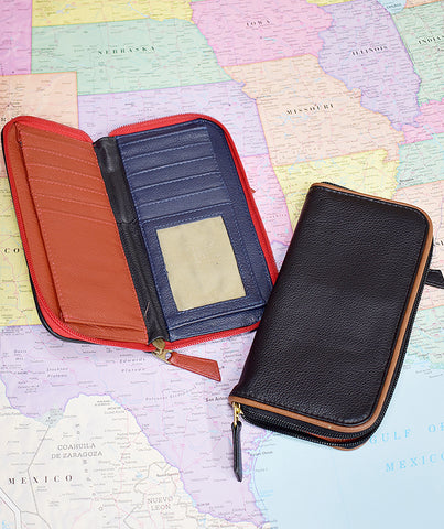 Roomy Zip Wallet