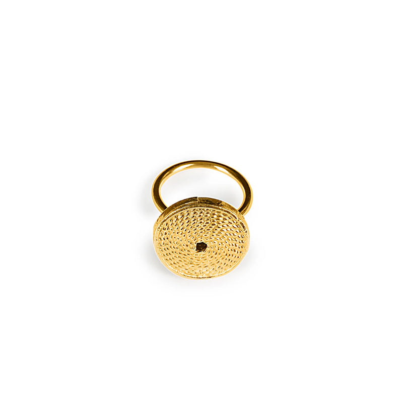 MATA RICA RING II IN GOLD - Tohum Design