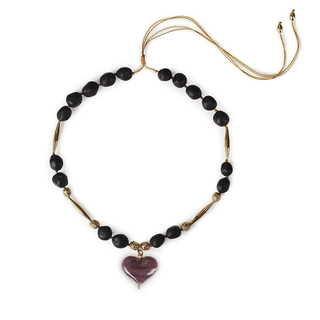 CUORE RESORT NECKLACE II IN GOLD - Tohum Design
