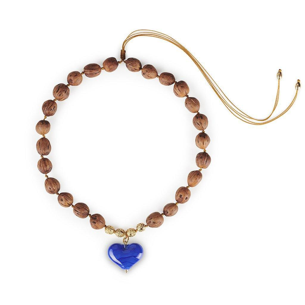 CUORE RESORT NECKLACE IN GOLD - Tohum Design