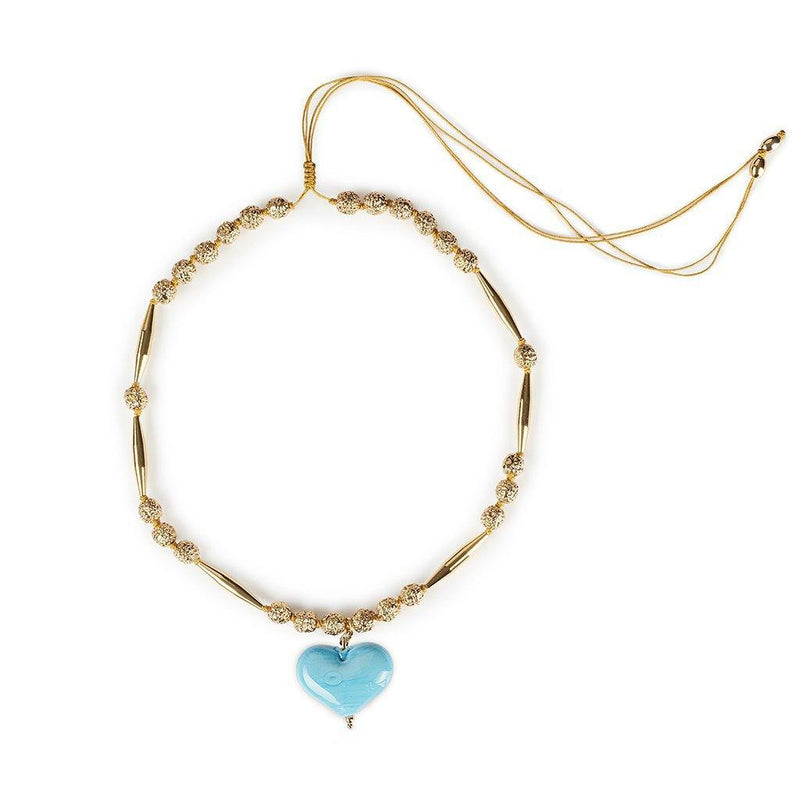 HELIA CUORE NECKLACE III IN GOLD - Tohum Design
