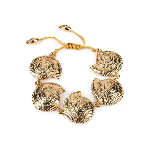 ARCHI SHELL BRACELET SMALL IN GOLD