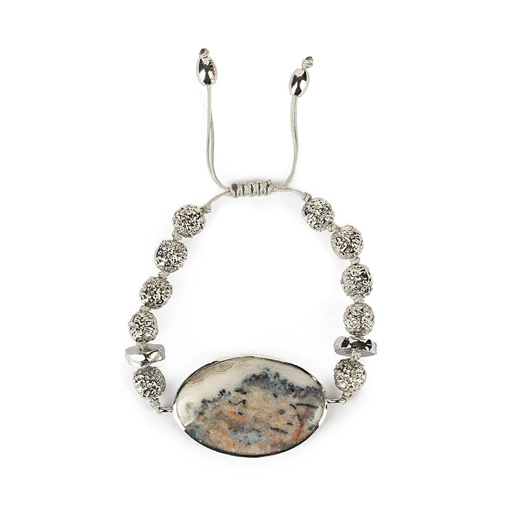 MAGICAL NATURE - BRACELET WITH JASPER - Tohum Design