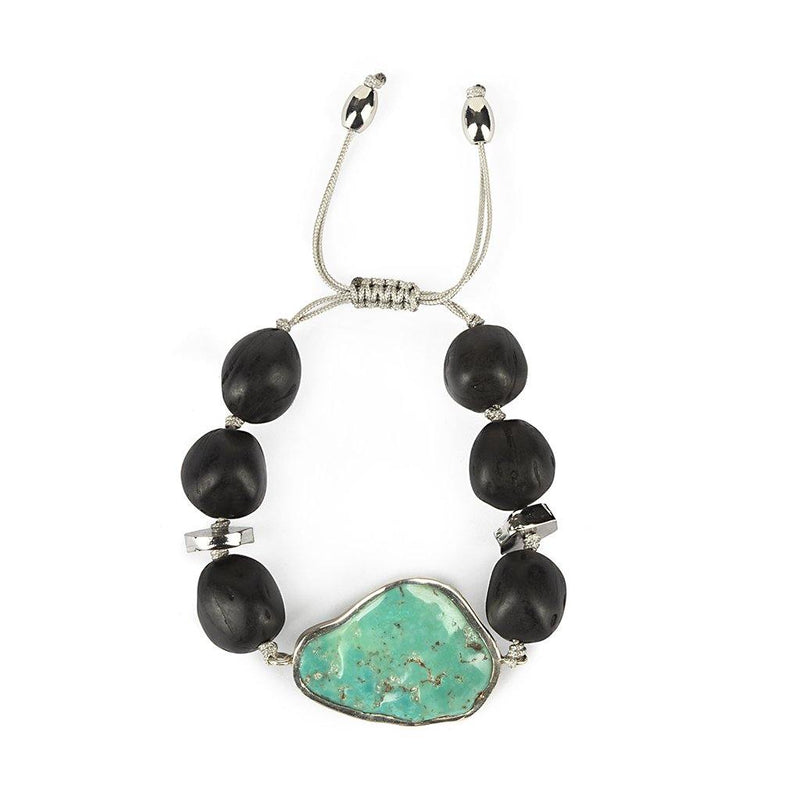 MAGICAL NATURE - BRACELET WITH TURQUOISE - Tohum Design
