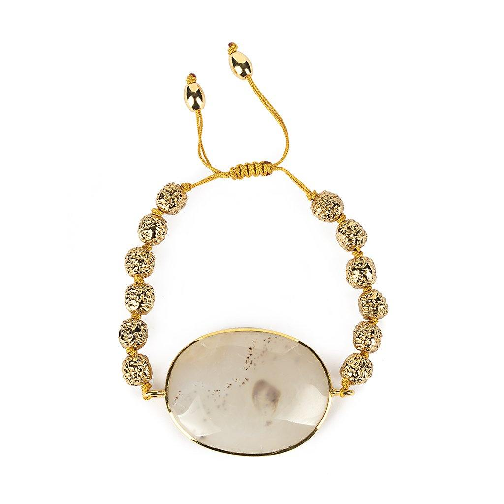 MAGICAL NATURE - BRACELET WITH MOONSTONE - Tohum Design