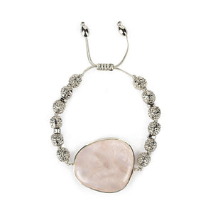 MAGICAL NATURE - BRACELET WITH ROSE QUARTZ - Tohum Design