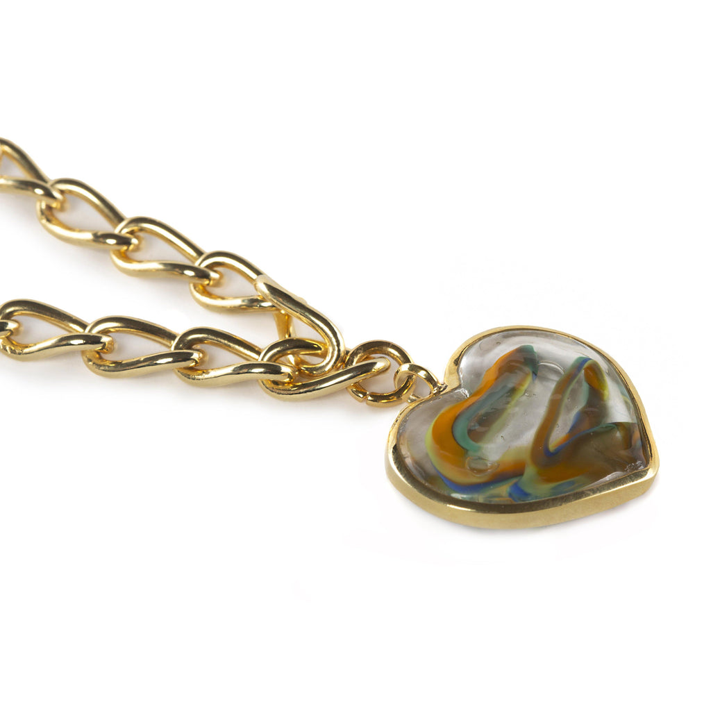 AURORA NECKLACE IN GOLD - Tohum Design