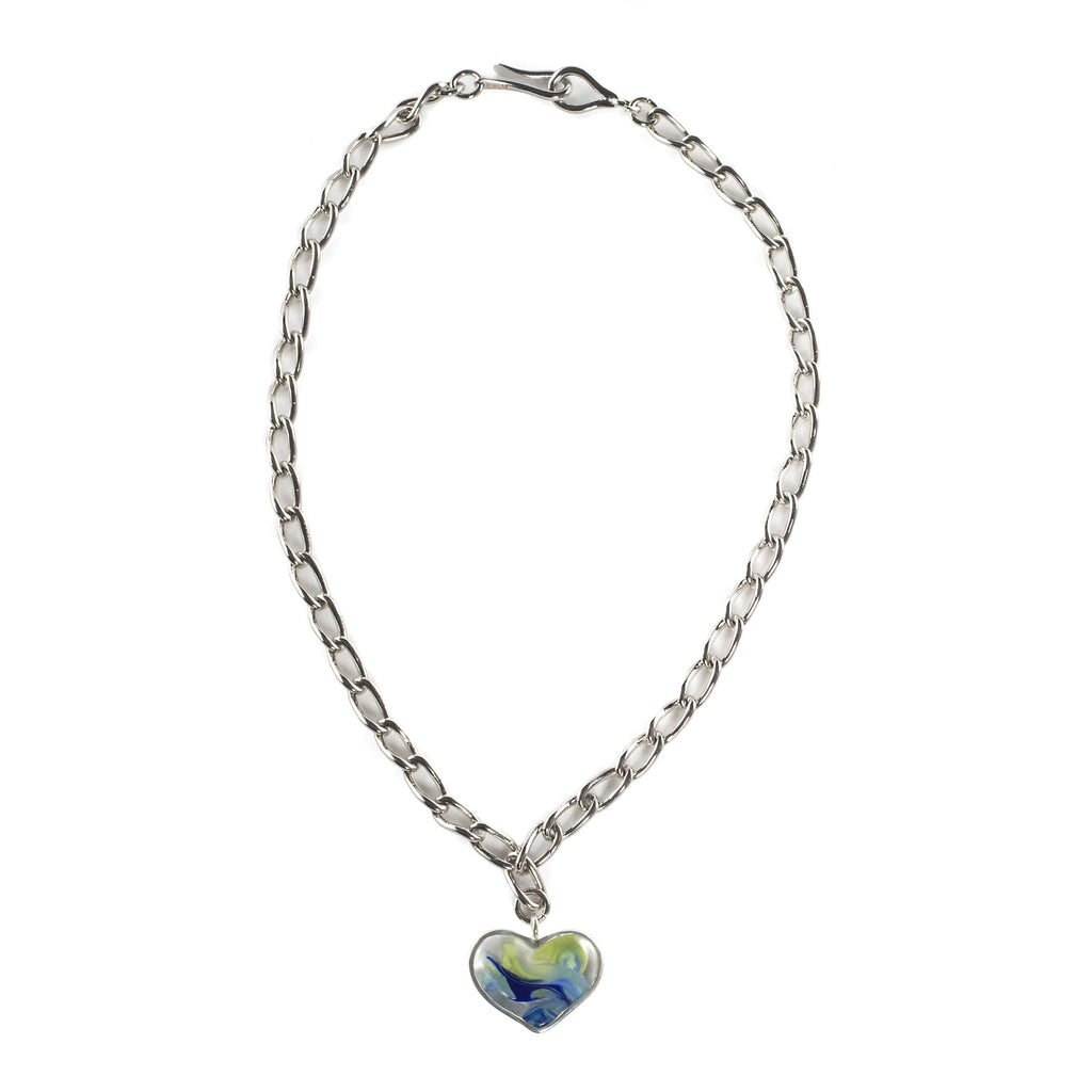 AURORA NECKLACE IN SILVER - Tohum Design