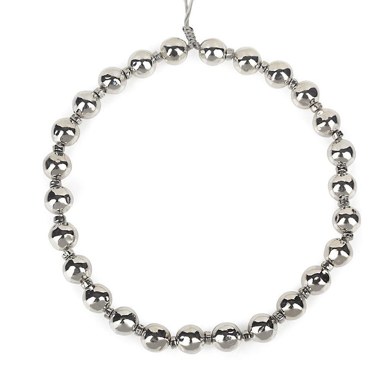 Pure Light Extra Small Globe Choker Necklace In Silver - Tohum Design