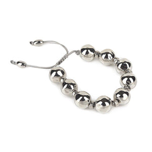 Pure Light Extra Small Globe Bracelet In Silver - Tohum Design